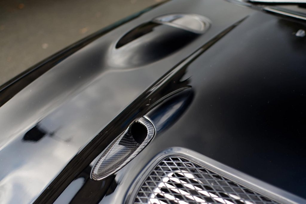 Carbon hood for toyota