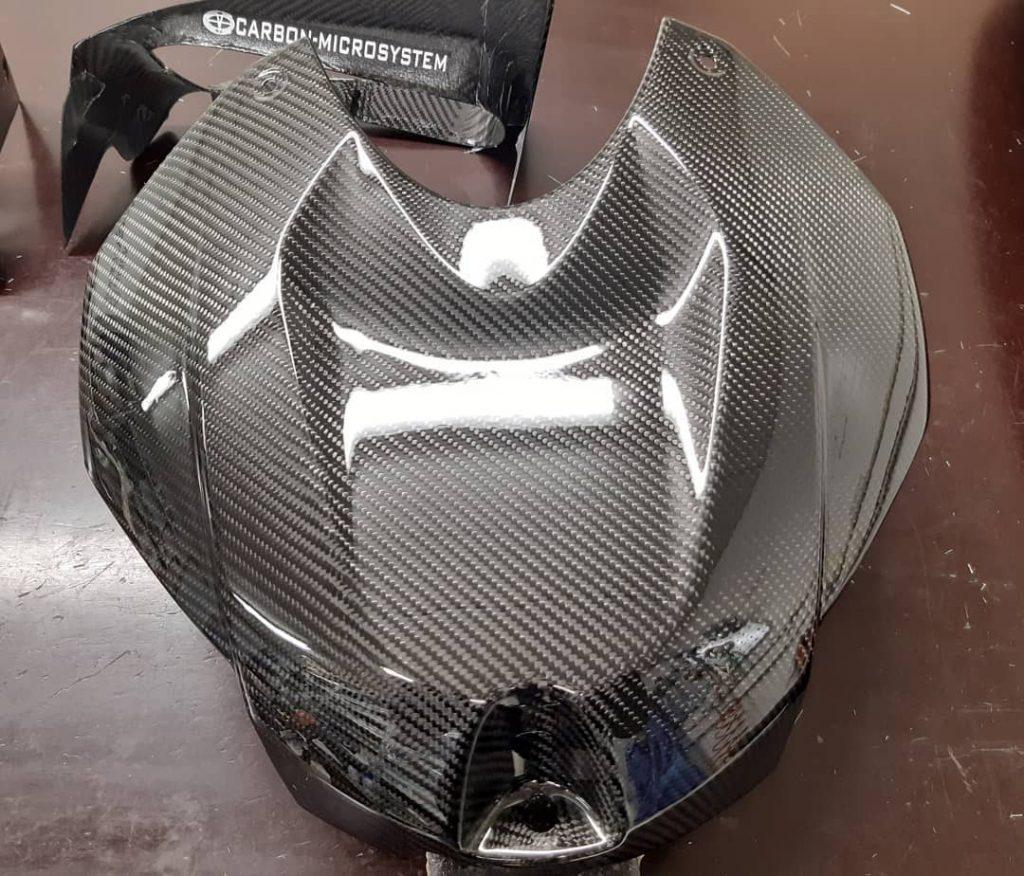 carbon fiber tank cover