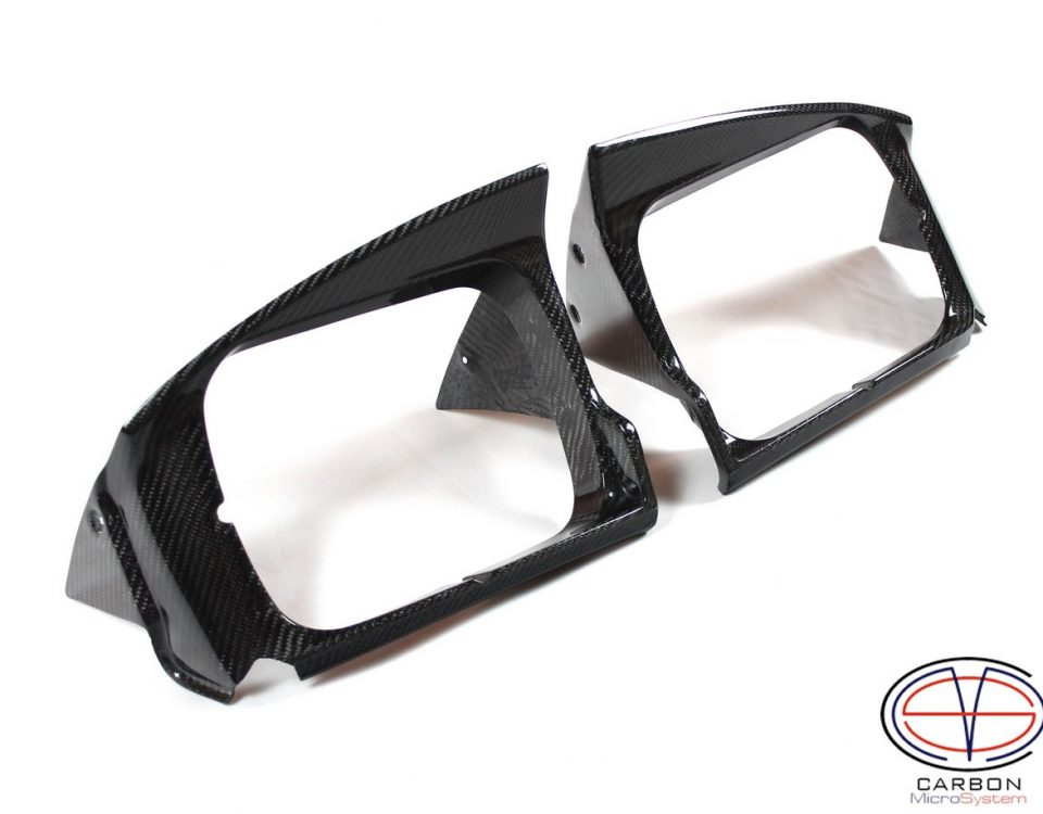 Carbon Fiber Headlight Surround