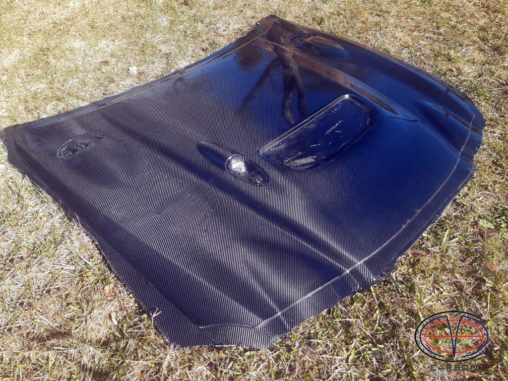 Carbon fiber hood st205