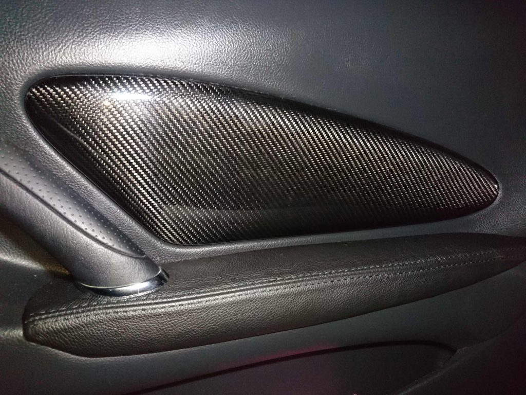 Doors with Carbon Fiber door inserts for Celica