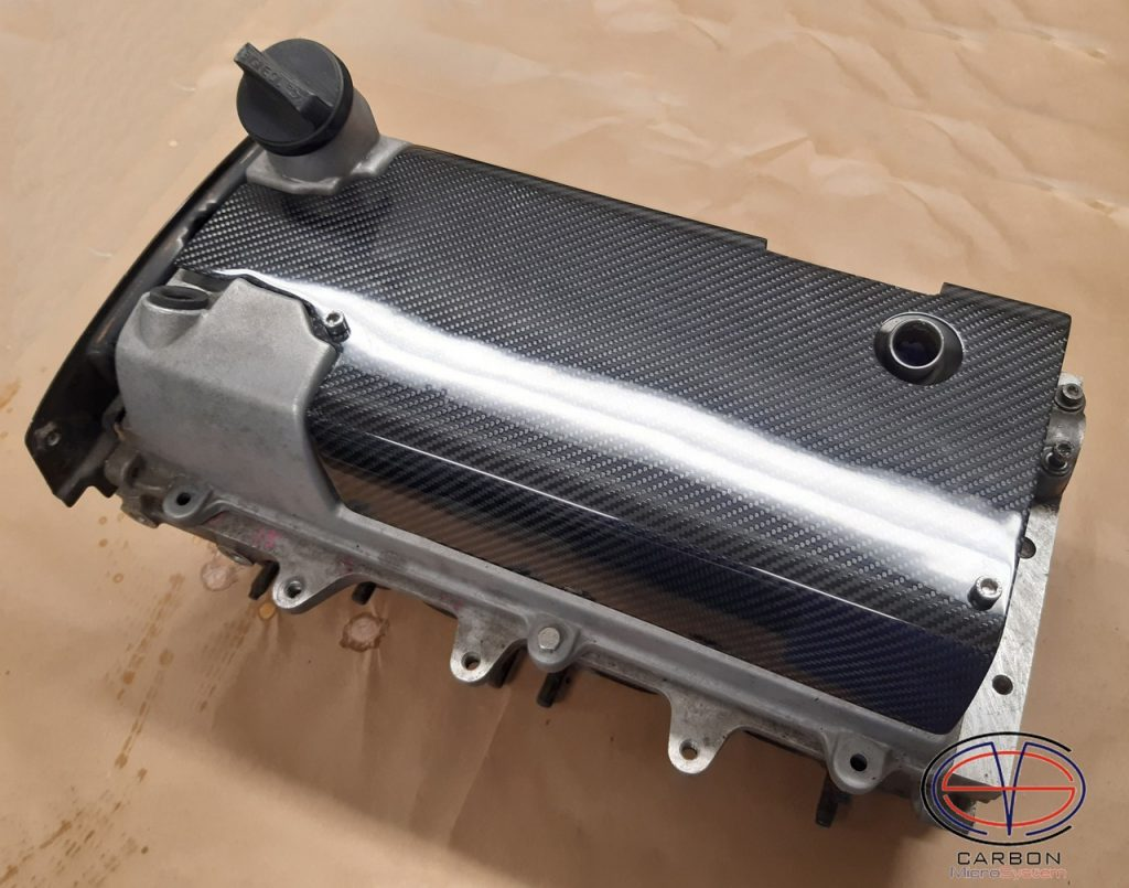 Spark plug cover from Carbon Fiber for 3S-GE engine
