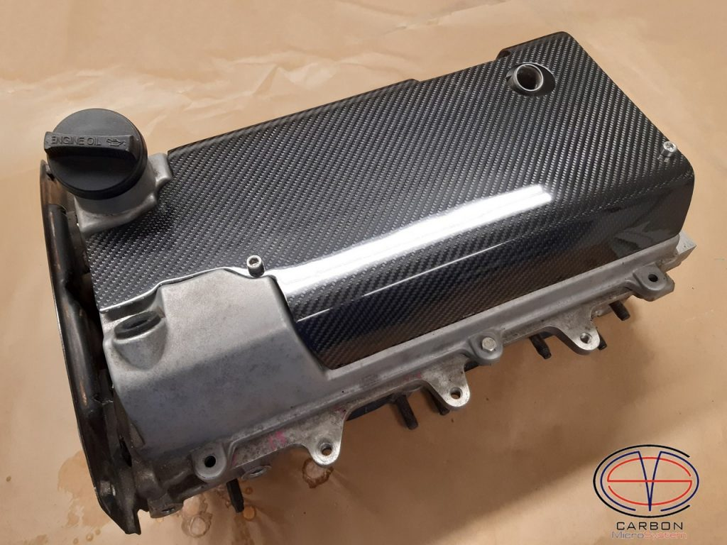 Spark plug cover from Carbon Fiber for 3SGTE engine