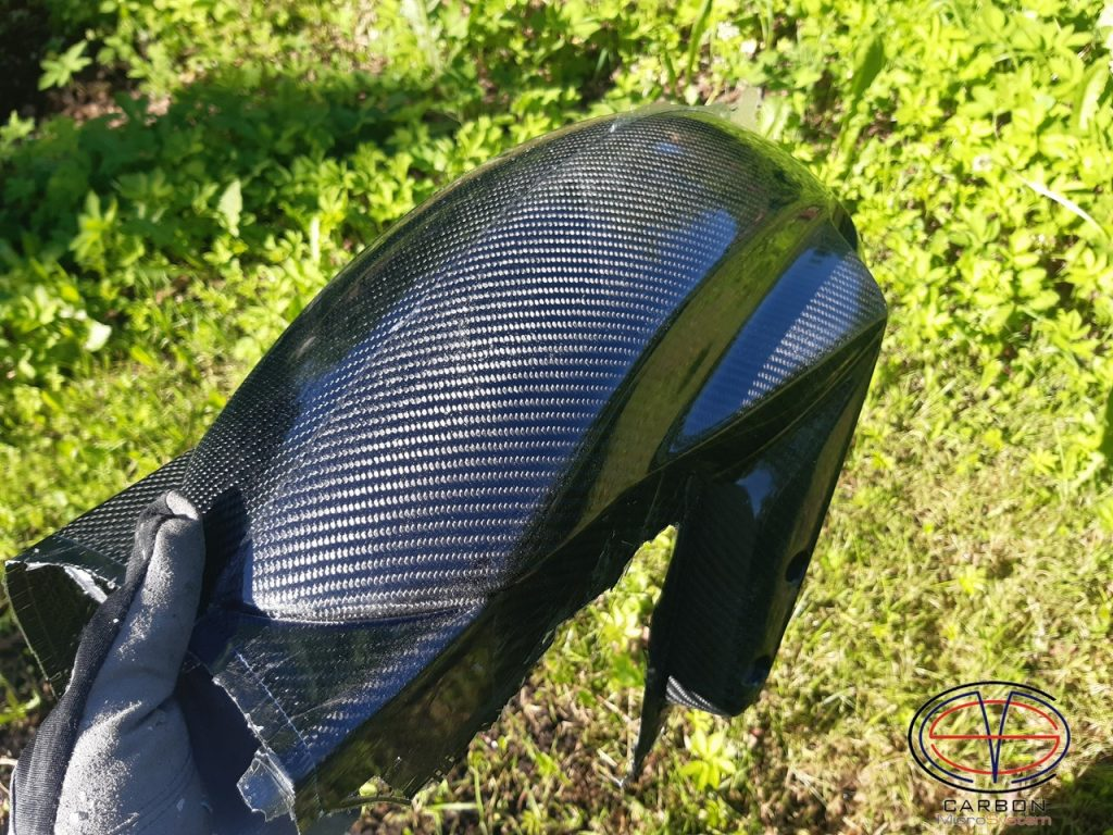 front fender from carbon fiber