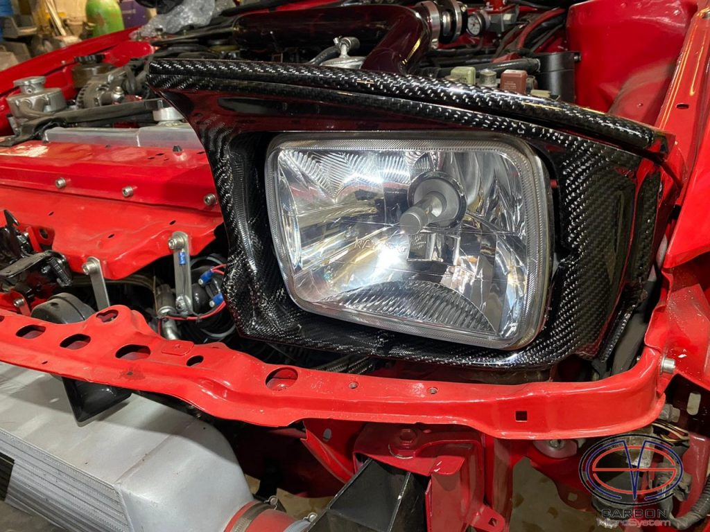 Carbon Headlight Surround