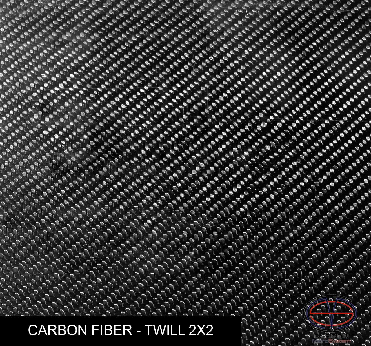 carbon fiber twill 2x2