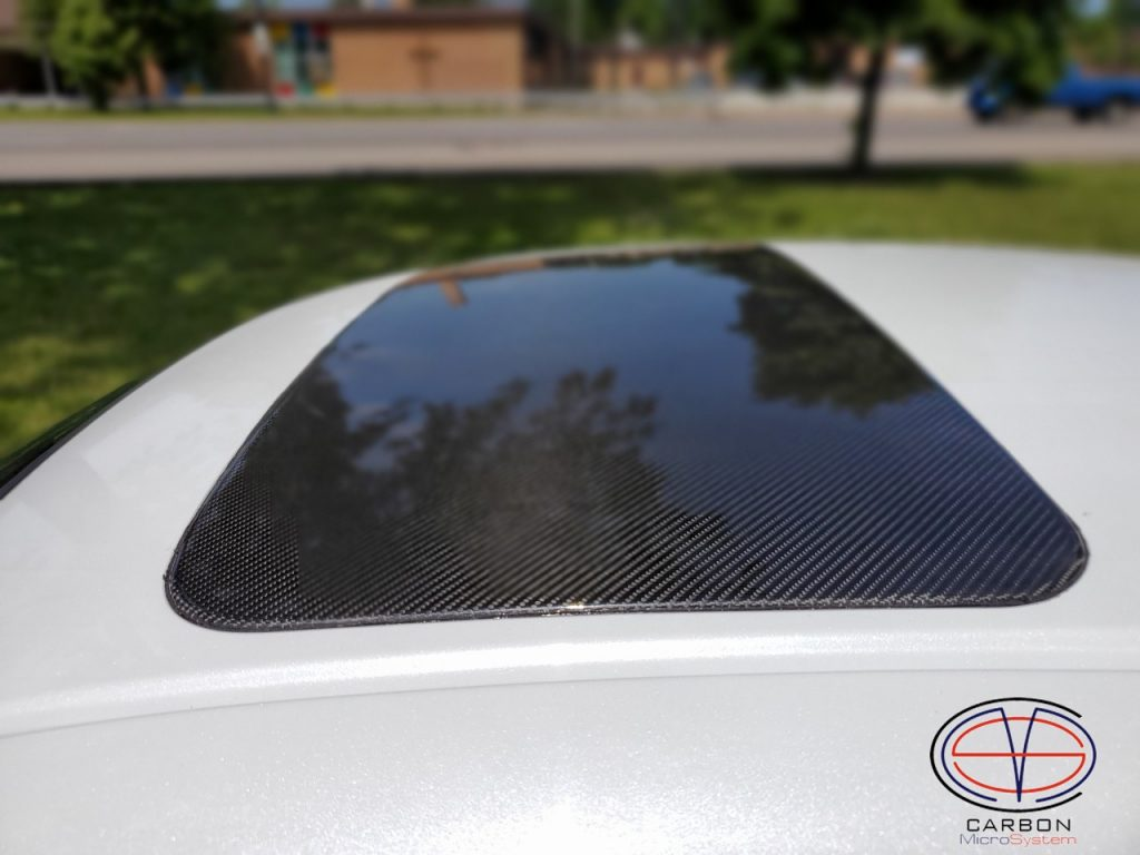 Sunroof delete panel from Carbon Fiber for TOYOTA Celica st18