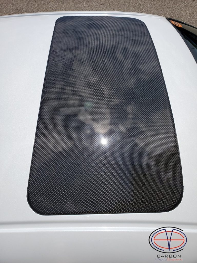 Sunroof delete panel from Carbon