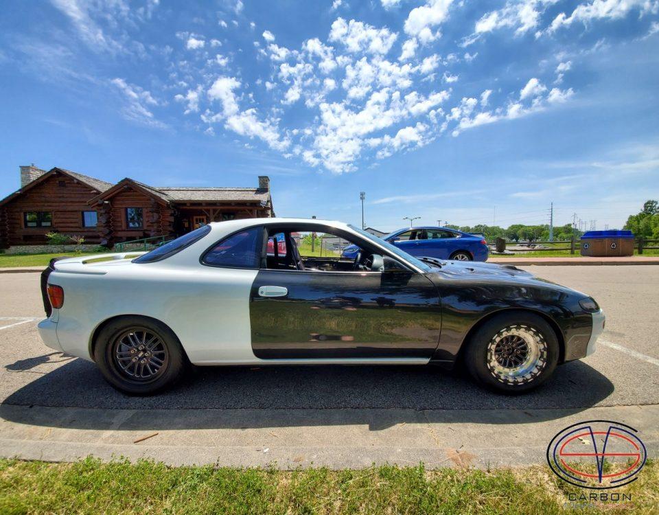 Carbon Toyota Celica st18