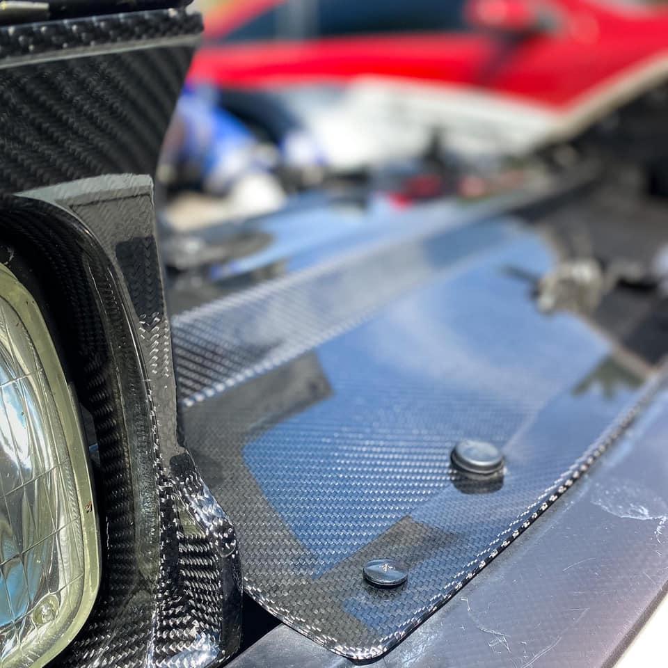 Carbon fiber cooling panel