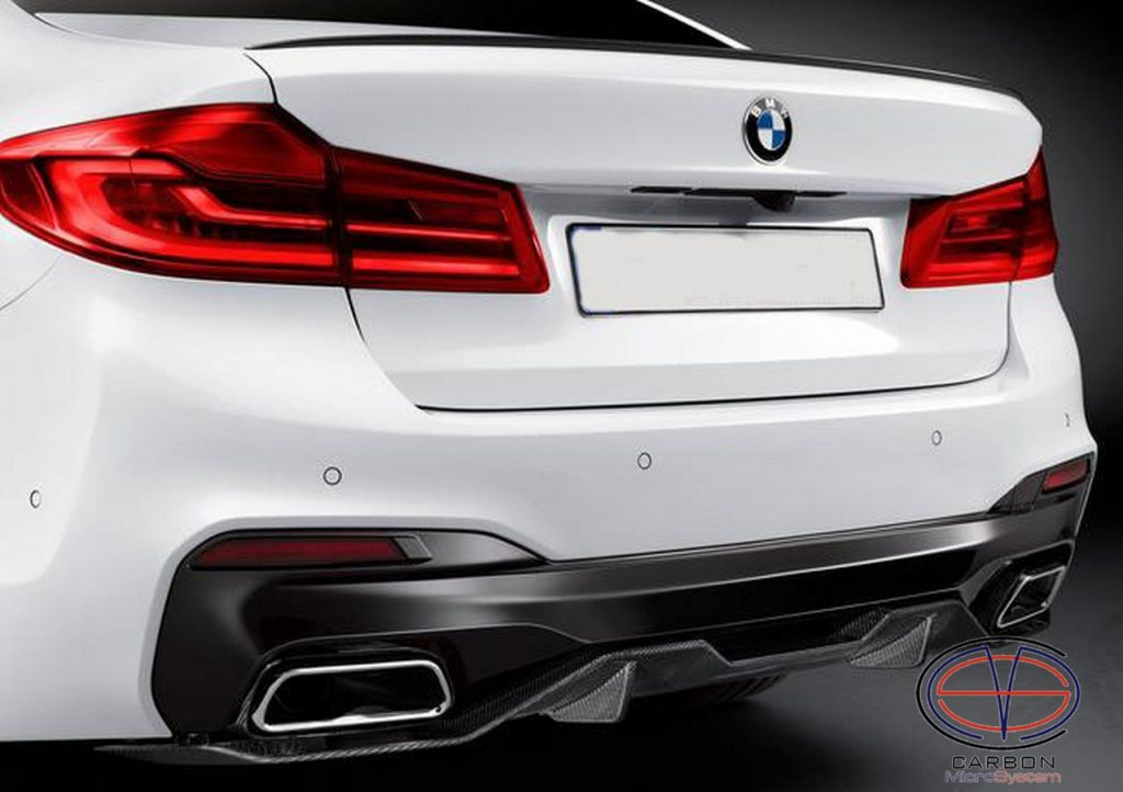 Carbon fiber Rear diffuser for BMW 5 G30