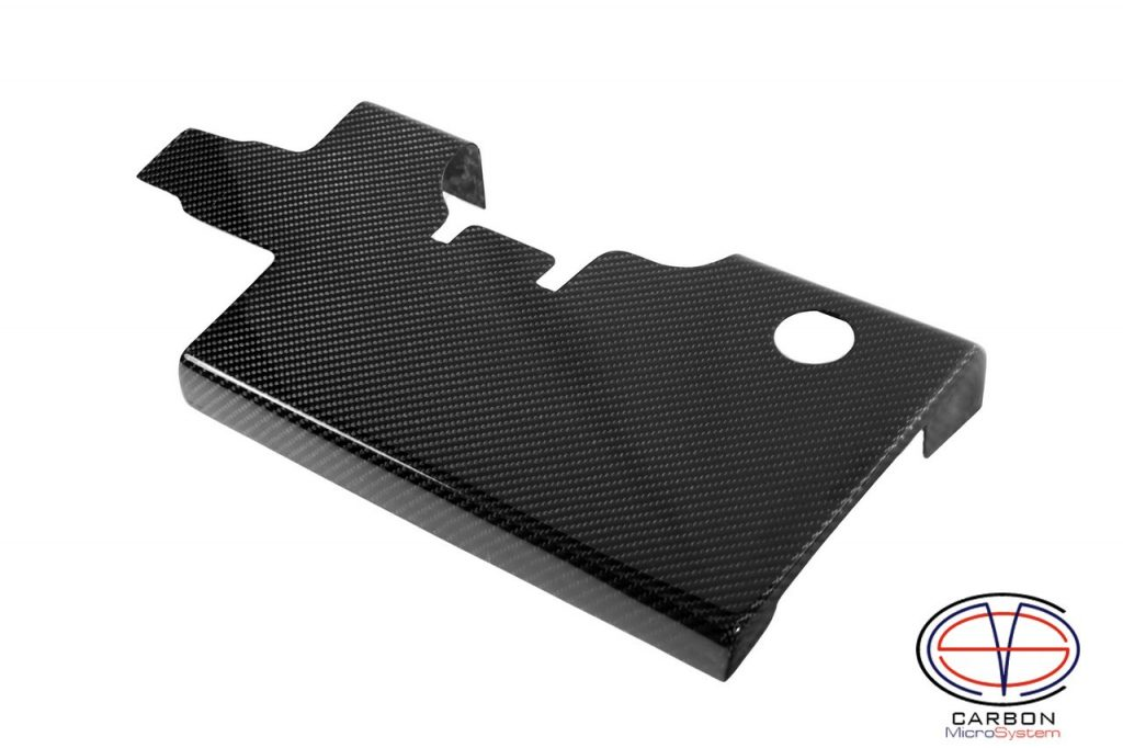 Spark plug cover from Carbon Fiber for 3SGTE