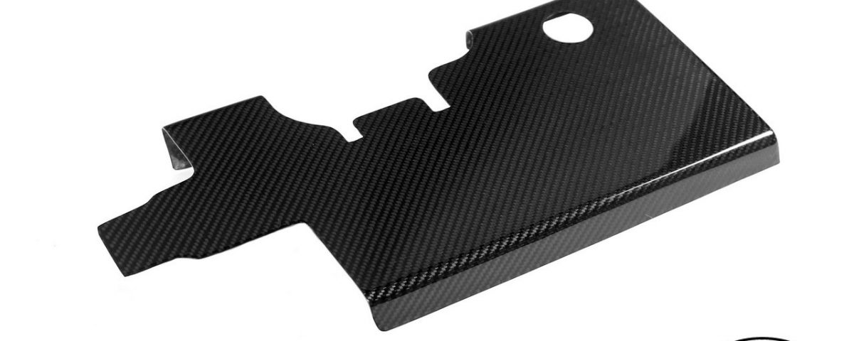 Spark plug cover from Carbon Fiber for 3S-GTE engine