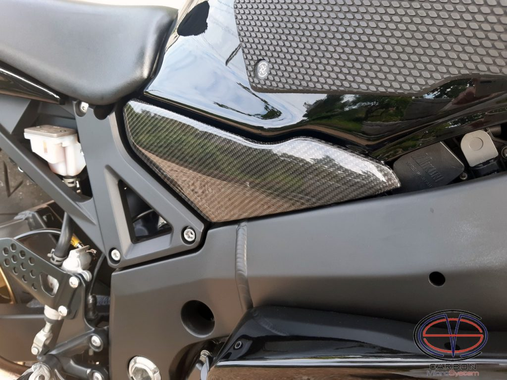 Fuel tank cover from Carbon Fiber for Suzuki GSX-R750