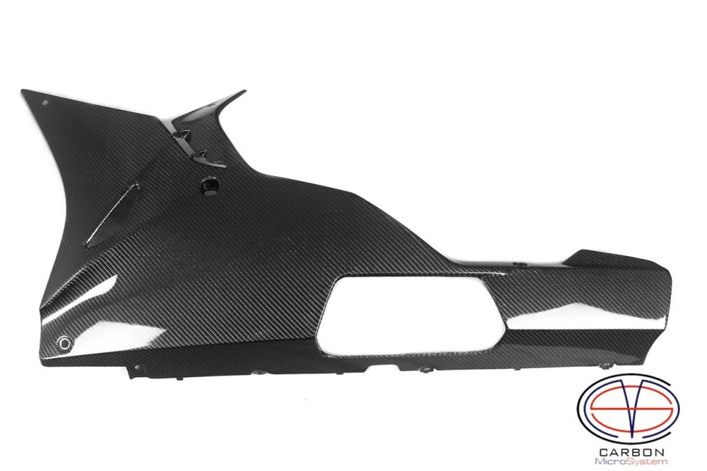 Carbon fiber Bellypan for BMW
