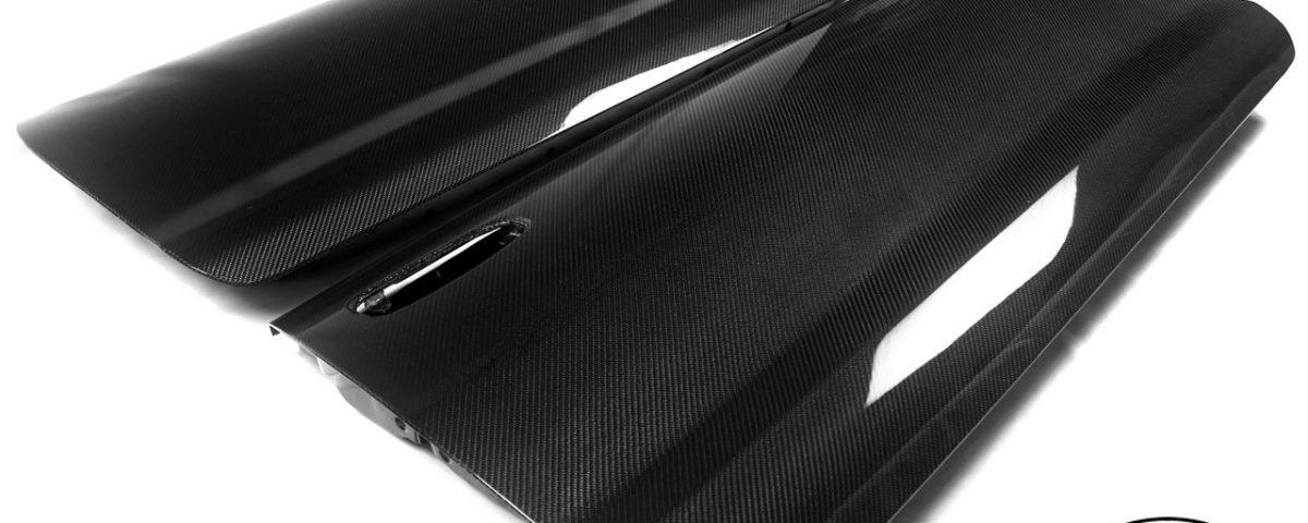 Carbon fiber doors for Toyota Celica