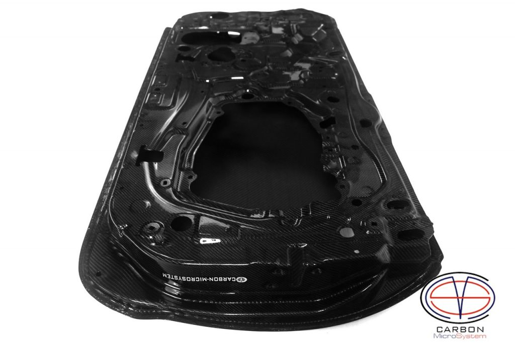 inner side of Carbon fiber doors for Toyota Celica st20