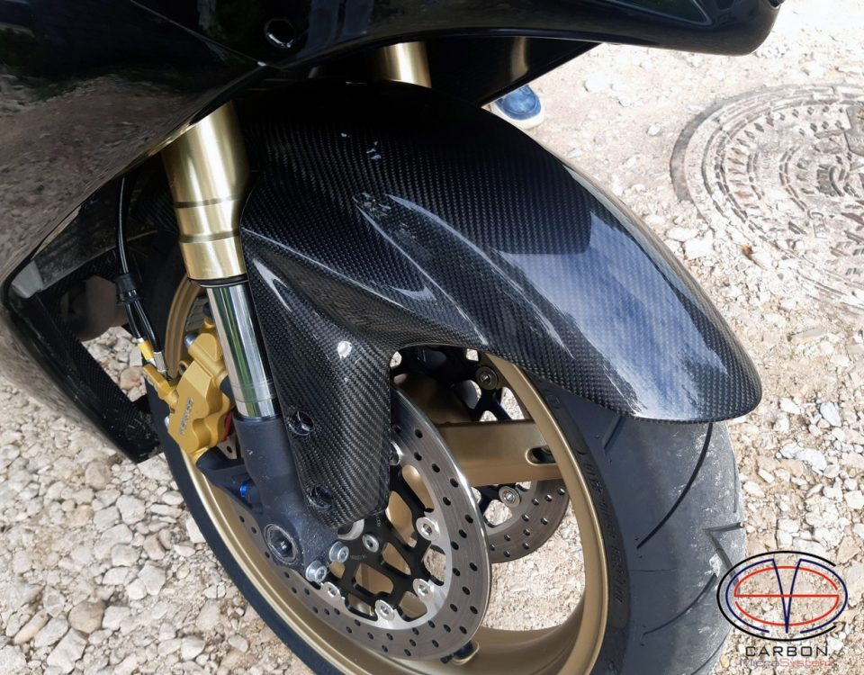 Front fender from carbon fiber for Suzuki GSX-R750