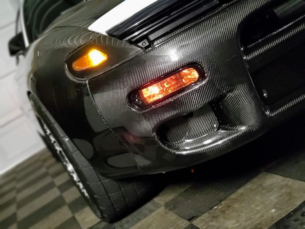 Celica carbon bumper