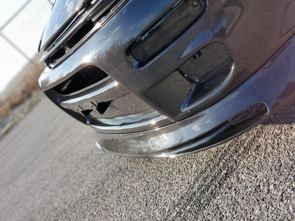 Carbon fiber front lip st18