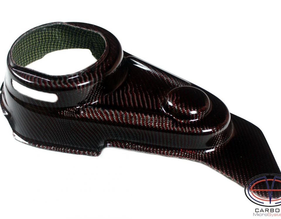 Carbon speedway chain guard