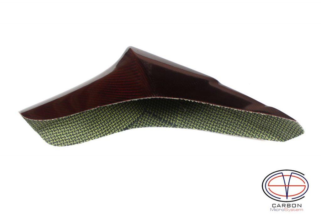 Carbon kevlar speedway fender