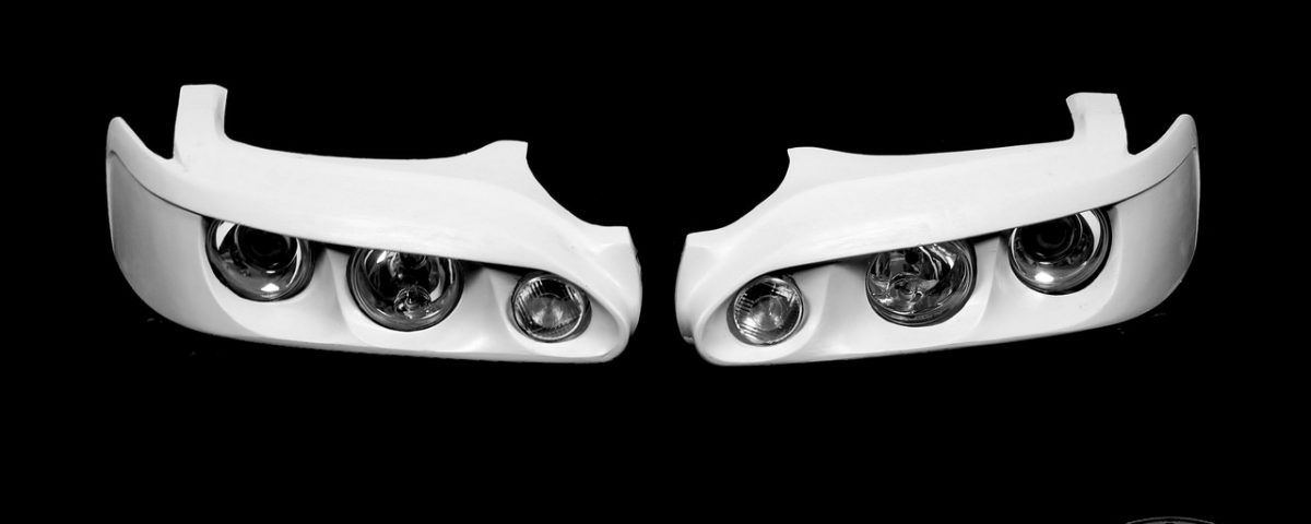 Modified headlights for Levin AE111