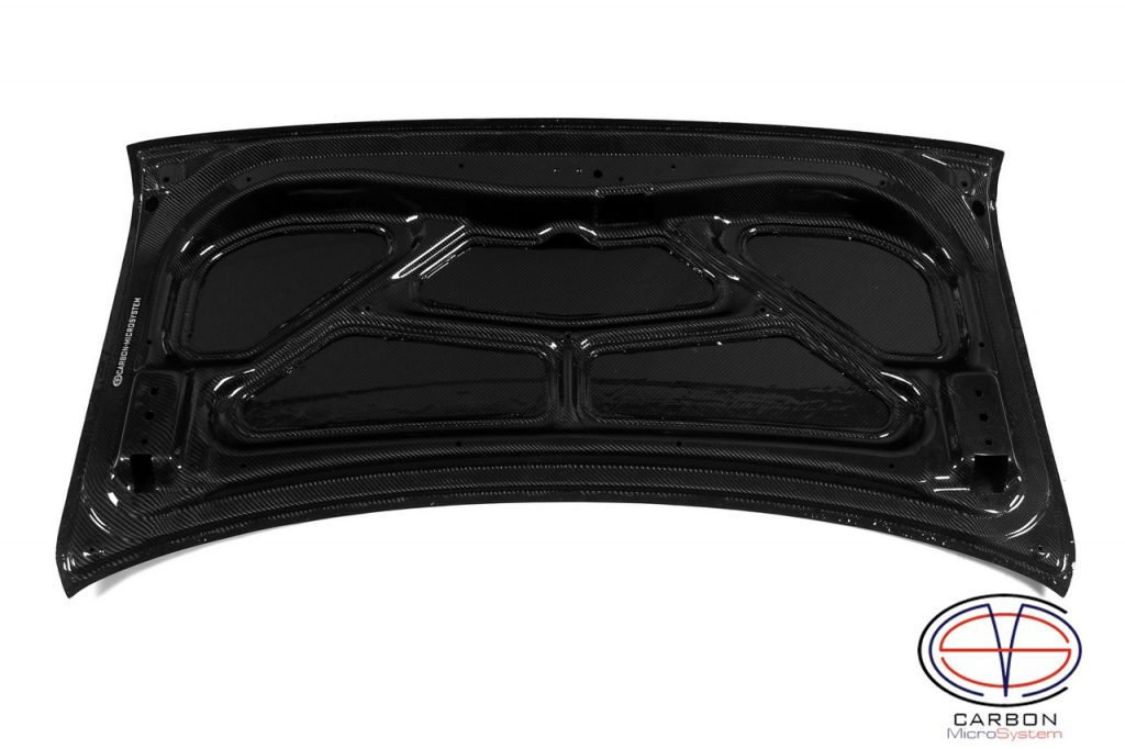 Carbon fiber Rear Trunk for Toyota Levin