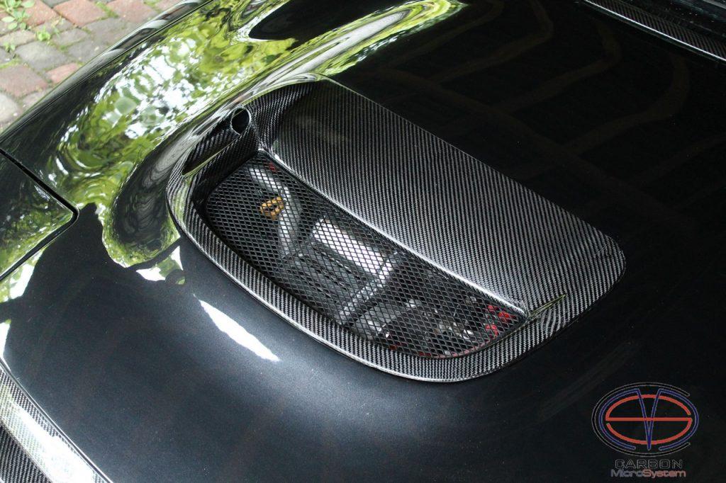 Carbon fiber Hood scoop CS for Toyota Celica st18