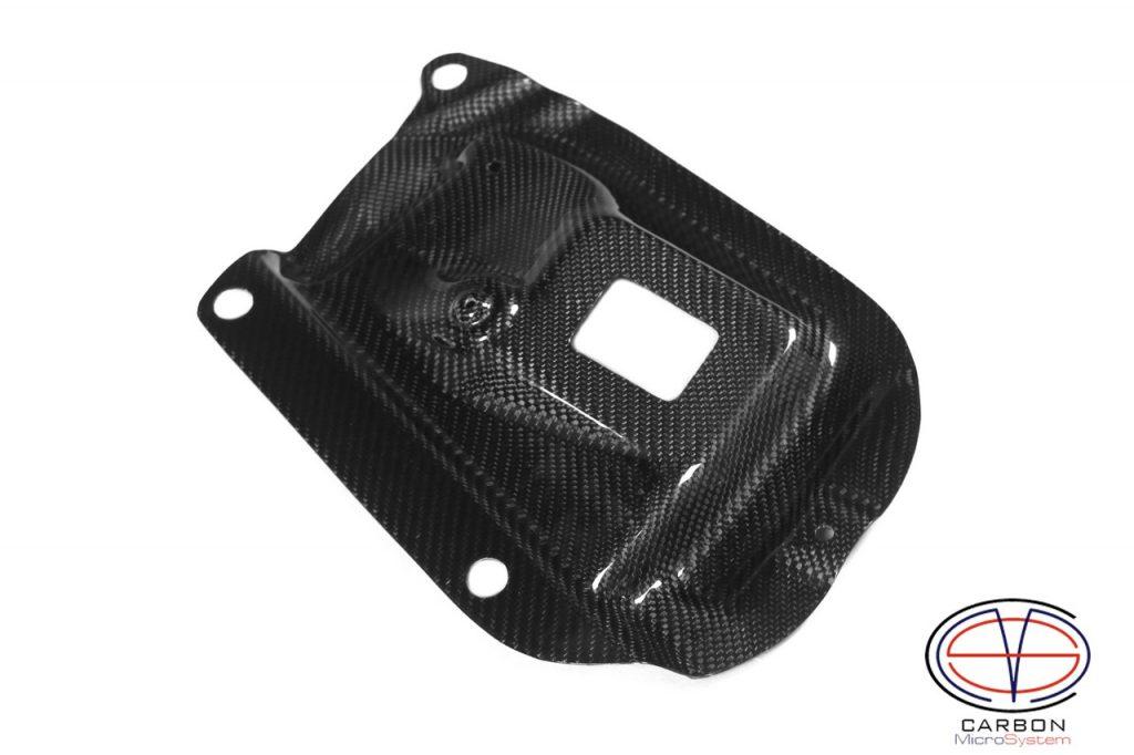 Carbon fiber rain guard Celica gt4