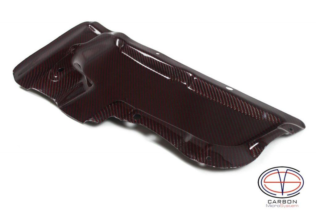 Red Carbon fiber rain guard for Toyota Celica gt4 st205