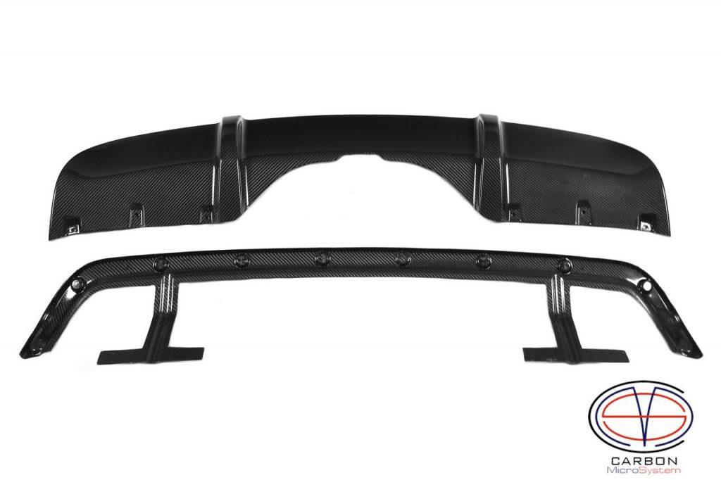 Carbon fiber Rear diffuser for BMW F15