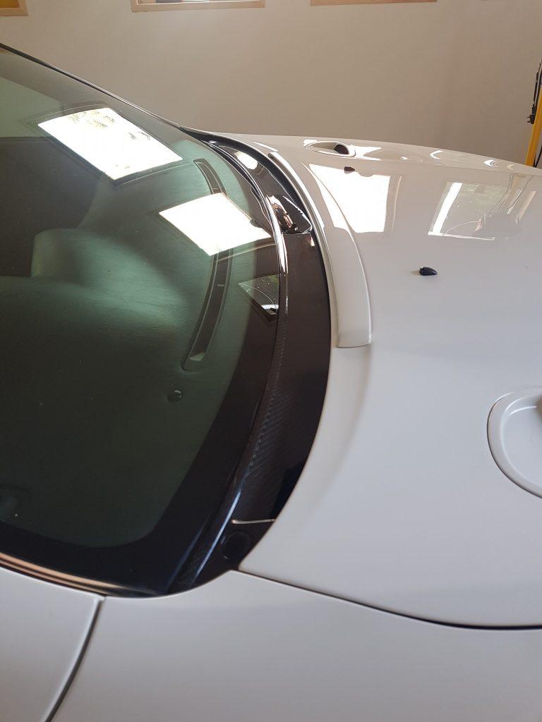 Carbon Wiper cowl Celica
