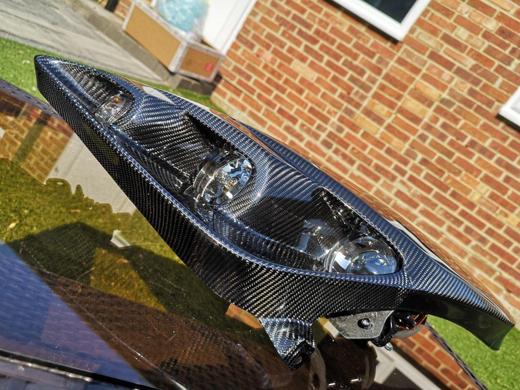 Carbon headlights celica t23