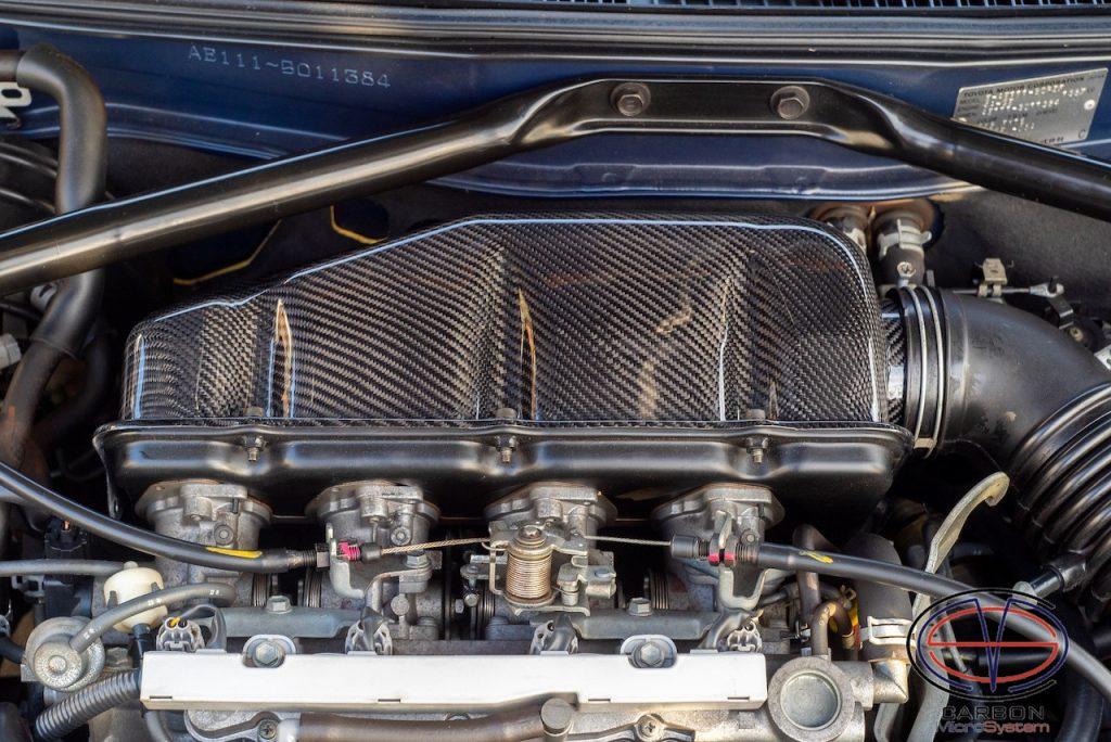 4A-GE Carbon Intake Air Surge Tank