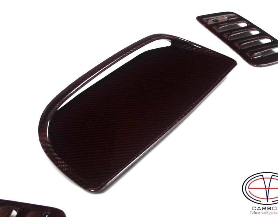 carbon inserts and hood scoop Celica st185