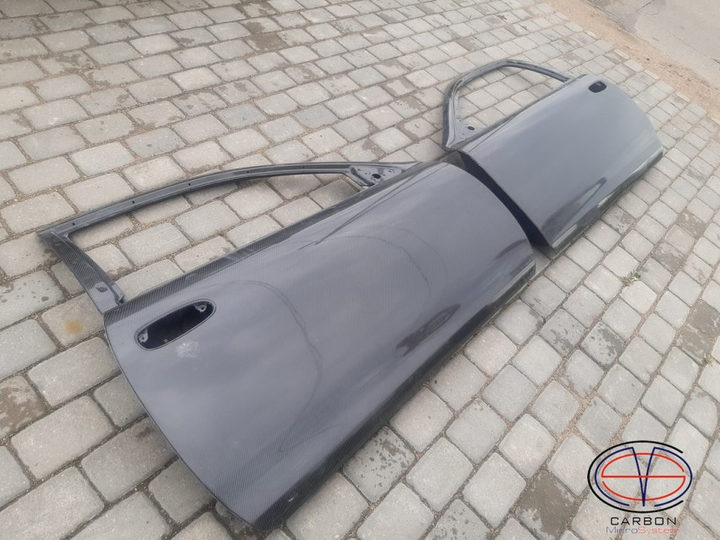 Doors from Carbon fiber for Toyota Levin