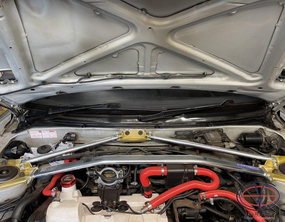 Toyota Celica st205 engine bay