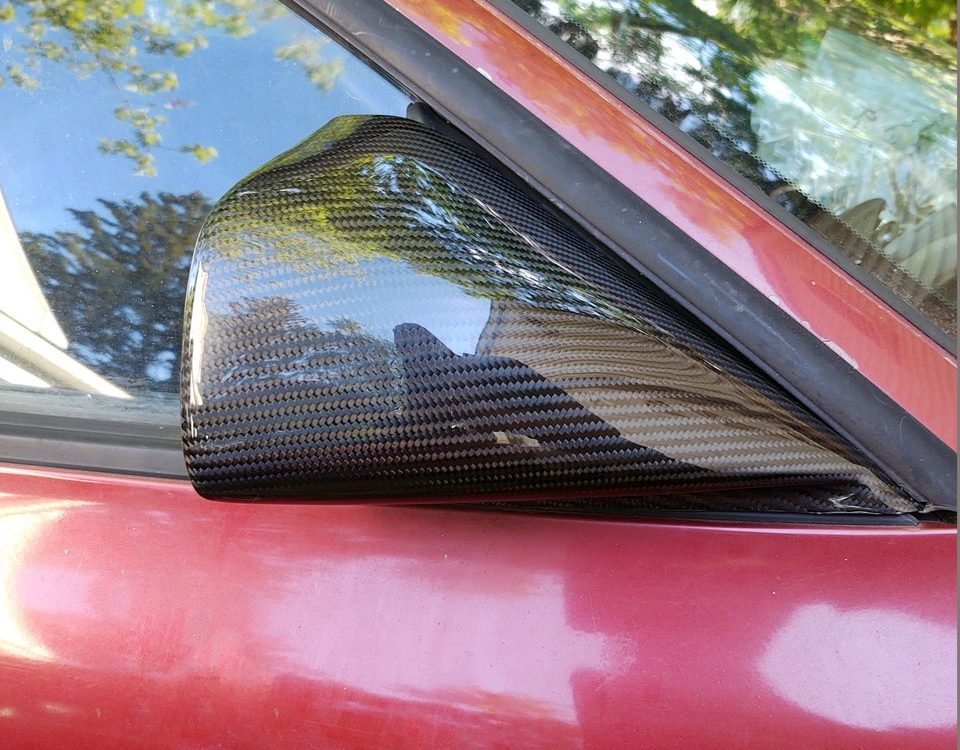 Carbon fiber TTE Mirrors for Toyota Celica