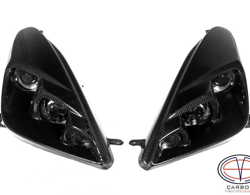 Carbon fiber headlights BARS2FAST for Toyota Celica t23 with Hella modules
