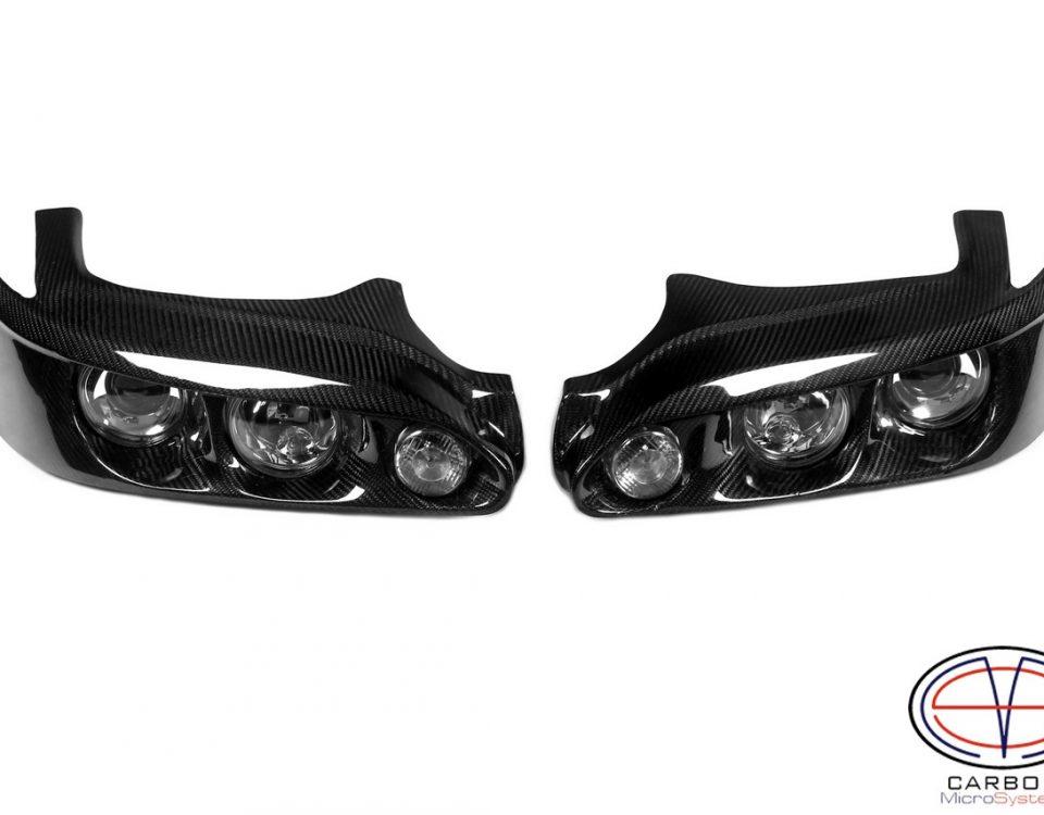 Carbon fiber headlights for Toyota Levin