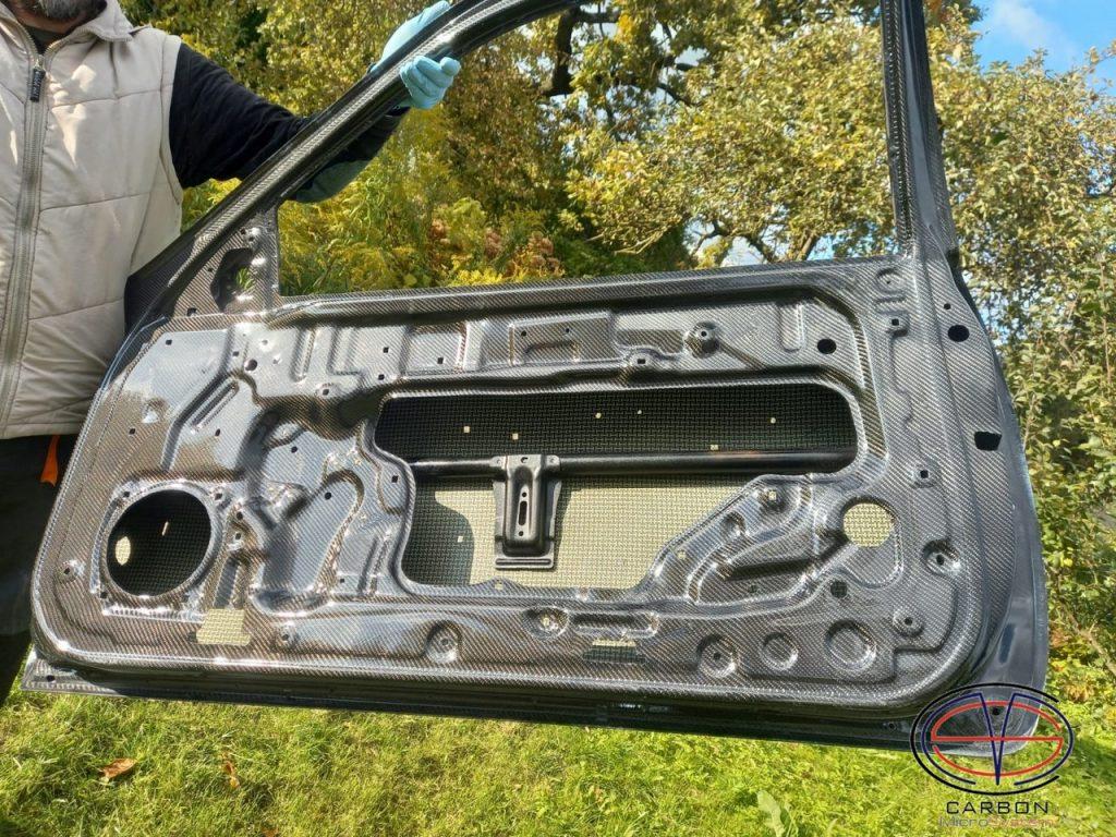 Carbon doors Toyota Levin